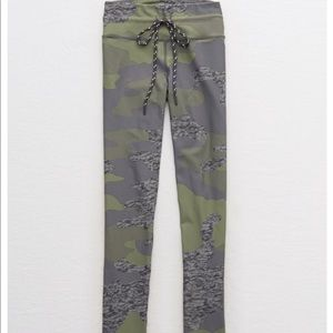 camo aerie leggings size small